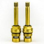 Komplet głowic 1/4 obrotu długich do baterii Roca AG0075603R