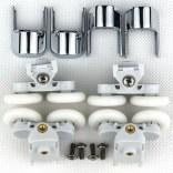 Komplet rolek górnych lub dolnych do kabin prysznicowych 1/4 koła ENA 2.0 lub CLASSIC 2.0 Huppe 042622