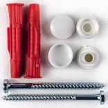 Komplet śrub do mocowania miski WC Gorgiel 1022102110
