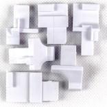 Komplet suwaków dolnych Sanplast CLASSIC 660-C0127