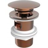 Korek do baterii click-clack Roca AQUA ROSE GOLD A5054015RG różowe złoto
