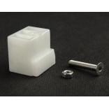Kostka mocująca profilu duża kabiny prysznicowej Sanplast PRESTIGE II 660-C0143