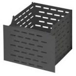 Koszyk do schowków WC wysuwany MCJ KWWC/LBL czarny