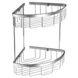 Koszyk prysznicowy podwójny narożny Omnires UNI UN3509