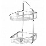 Koszyk prysznicowy podwójny narożny Omnires UNI UN3510CR