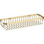 Koszyk prysznicowy prostokątny Omnires UNI 8963A GL złoty