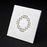Kratka ściekowa pionowa PCV fi 50 Rawiplast C101B biała