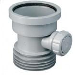 Łącznik kanalizacyjny 110 mm z wyjściem 110 mm i odejściem 40 mm L-150 mm McAlpine DC1-GR-BO