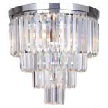 Lampa sufitowa 40 cm Zuma Line AMADEO FC17106/4+1 -CHR chrom
