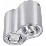 Lampa sufitowa Azzardo BROSS AZ0783 aluminium 2-punktowa