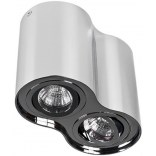 Lampa sufitowa Azzardo BROSS AZ0941 chrom 2-punktowa