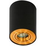 Lampa sufitowa Azzardo BROSS AZ2955 czarna/złota