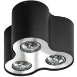 Lampa sufitowa Azzardo NEOS AZ0742 czarna / chrom 3-punktowa