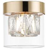 Lampa sufitowa Zuma Line GEM C0389-01A-F7AC złota