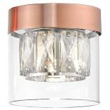 Lampa sufitowa Zuma Line GEM C0389-01A-L7AC miedziana