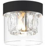 Lampa sufitowa Zuma Line GEM C0389-01A-P7AC czarna