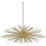 Lampa wisząca 101 cm Zuma Line URCHIN P0491-09E-F7DY złota