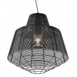 Lampa wisząca 50 cm Zuma Line WIRE MD1712-1L-Black czarna