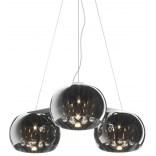 Lampa wisząca 70 cm Zuma Line CRYSTAL P0076-03R-F4FZ 3-punktowa / listwa
