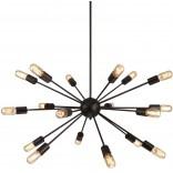 Lampa wisząca Azzardo ORBIT AZ1657 czarna