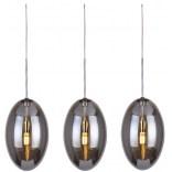 Lampa wisząca + LED Azzardo DIANA AZ2152 3-punktowa chrom