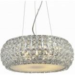 Lampa wisząca + LED Azzardo SOPHIA AZ0522 5-punktowa chrom / kryształ