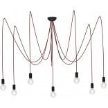 Lampa wisząca Nowodvorski SPIDER RED VII 6786