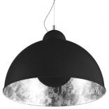 Lampa wisząca Zuma Line ANTENNE TS-071003P-BKSI czarna/srebrna