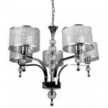 Lampa wisząca Zuma Line JEWELLERY P1550-05A-F4B3 5-punktowa