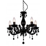 Lampa wisząca Zuma Line MAGNOLIA RLD94016-5B czarna