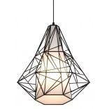 Lampa wisząca Zuma Line SKELETON HP1335-BL czarna
