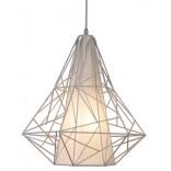 Lampa wisząca Zuma Line SKELETON HP1335-WH biała