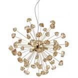 Lampa wisząca Zuma Line STAR P0539-06A-F7DY  francuskie złoto