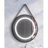 Lustro LED na pasku okrągłe 75 cm MCJ STILO