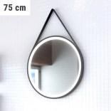 Lustro LED na pasku okrągłe 75 cm MCJ TEXAS