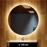 Lustro LED okrągłe 100 cm MCJ CERCHIO Z