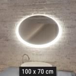 Lustro LED owalne 100x70 cm MCJ FLAVIO