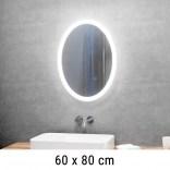 Lustro LED owalne 60x80 cm MCJ SOFIA