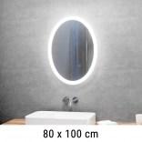 Lustro LED owalne 80x100 cm MCJ SOFIA