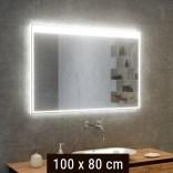 Lustro LED prostokątne 100x80 cm MCJ DONATO