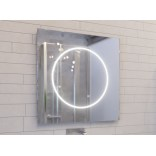 Lustro LED prostokątne 120x80 MCJ TONDO