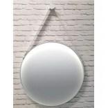 Lustro okrągłe na pasku 65x65 Elita SAILOR 167218 biała