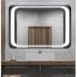 Lustro prostokątne 50x70 LED Etap LUX LP-9 wł. bezdotykowy, natur.