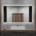 Lustro prostokątne LED 120x60 Etap GLOW LP-39 światło naturalne/wł. standardowy