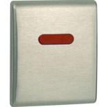Mechanizm spłukujący elektroniczny do pisuaru Tece PLANUS 9242350 stal szlachetna szczotkowana