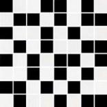 Mozaika  25x25 Ceramika Color CZARNO-BIAŁA
