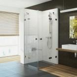 Narożna kabina prysznicowa otwierana czteroczęściowa 90x195 BRILLIANT 1UV77A00Z1