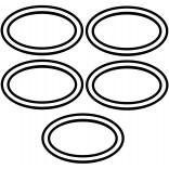 O-ring fi37 do zbiornika stelaża Excellent SHIRO INCZ.0033301 5 szt.