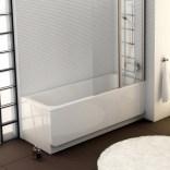 Panel A boczny 70 cm, Chrome RAVAK CZ72110A00 snowwhite