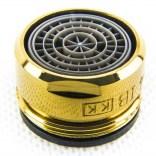 Perlator do baterii C304 PVD Omnires 1145PVD złoty CZ0676